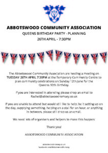 Abbotswood Queens Party Meeting