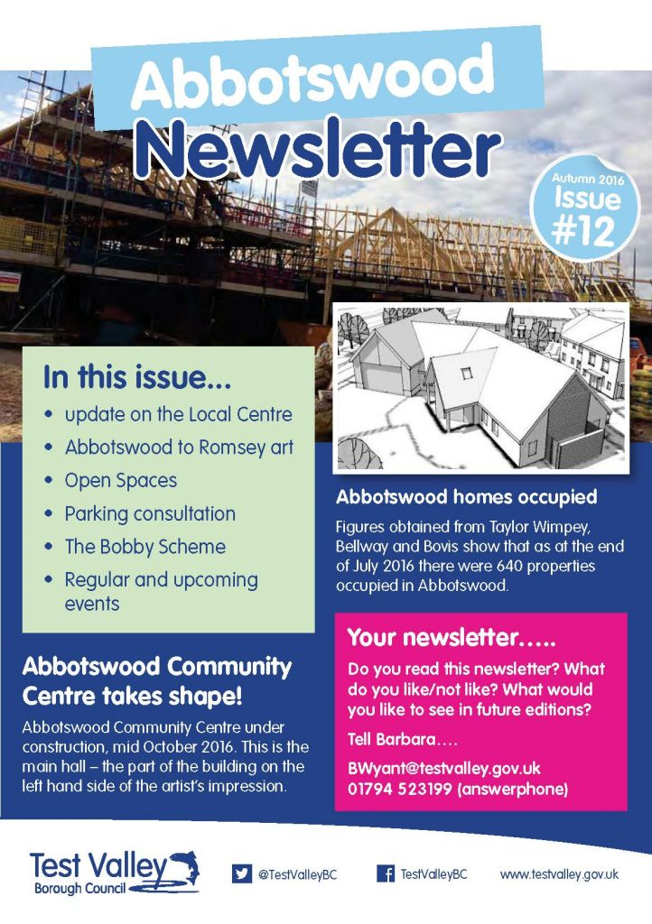 abbotswood romsey newsletter issue 12