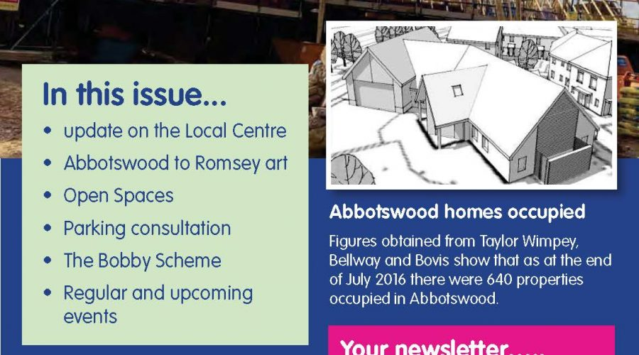 Abbotswood Romsey Newsletter 12 October 2016
