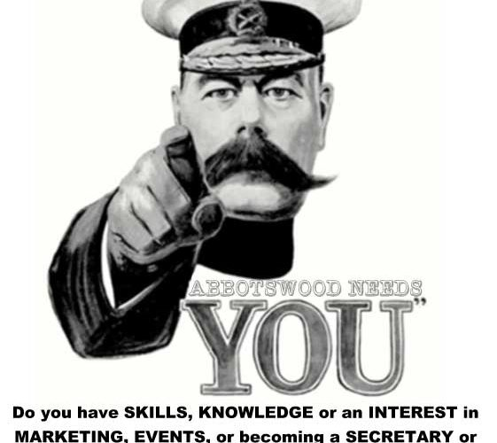 Abbotswood Needs You